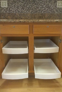 Homedepot Pan Drawers For Kitchen Cabinets