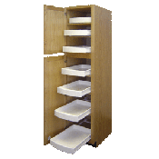 Pull Out Pantry Shelves - Slide Out Kitchen Cabinet Drawers ...